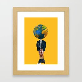 Jobless Framed Art Print