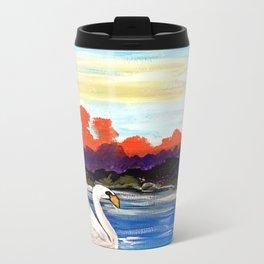 Swan Life Metal Travel Mug