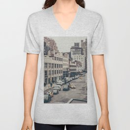 Tough Streets - NYC Unisex V-Neck