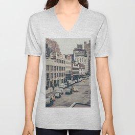 Tough Streets - NYC Unisex V-Neck