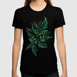 Fern leaves - green T-shirt