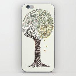season tree iPhone Skin