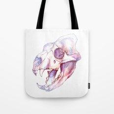 Tiger Skull Tote Bag