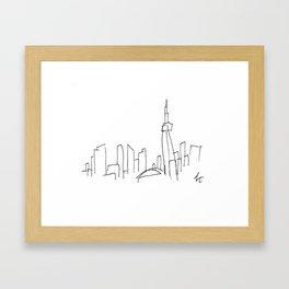 I Dream Of A Different Skyline Framed Art Print