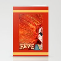 merida Stationery Cards featuring Brave: Merida by Schewy