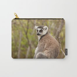 Ring Tailed Lemur Madagascar Carry-All Pouch