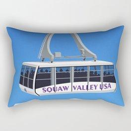 Squaw Valley Ski Resort ,LakeTahoe , California Rectangular Pillow
