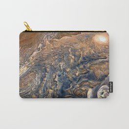 Jupiter's Clouds Carry-All Pouch