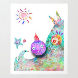 Hate me for it  Art Print