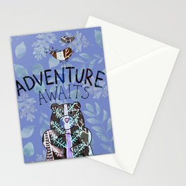Adventure Awaits - Bagaceous Stationery Cards