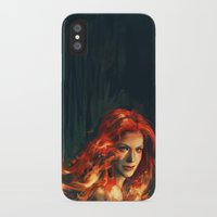 war iPhone & iPod Cases featuring War by Alice X. Zhang