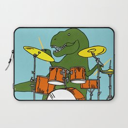 T-Rex Drummer Laptop Sleeve