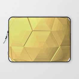 soccer ball gold Laptop Sleeve
