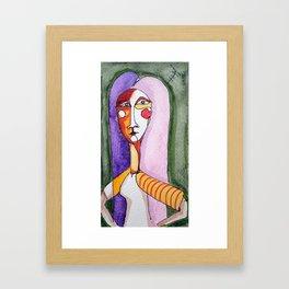 Anthen girl Framed Art Print