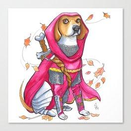 DogDays19 Roxi Canvas Print