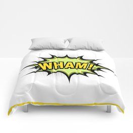 WHAM! Comic Book Comforters