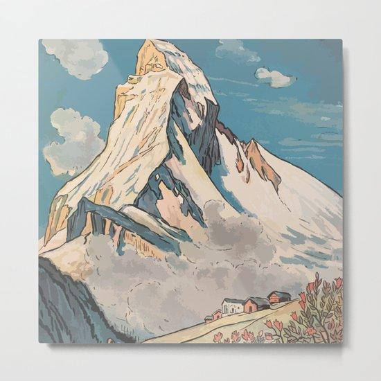 Night Mountains No. 45 Metal Print