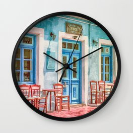 Let's Stop For A While Wall Clock