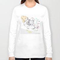 make up Long Sleeve T-shirts featuring Make up by Katarzyna Urbaniak