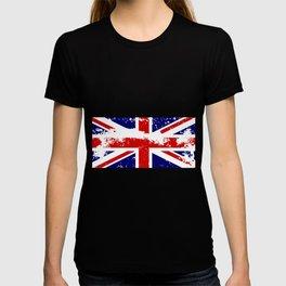 Union Jack Flag Grunge T-shirt