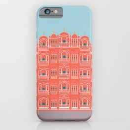 Hawa Mahal, Pink Wind Palace, Jaipur, India iPhone Case
