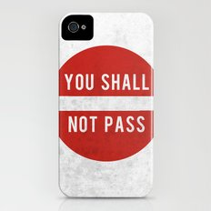 you shall not pass iPhone (4, 4s) Slim Case