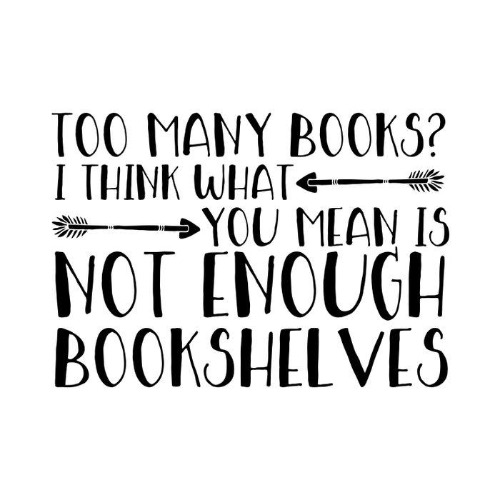Too Many Books? (Arrows) Comforters