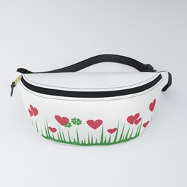 """""""Lucky in Love"""" Rare Pyrex Holy Grail Vintage Inspired Fanny Pack"""