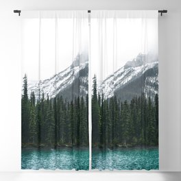 Forest   Maligne Lake Photography   Alberta   Mountains  Blackout Curtain