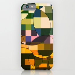 Magnified Collision iPhone Case