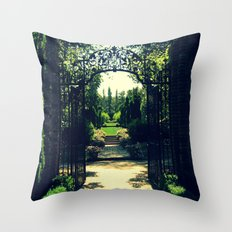 Filoli Path 1 Throw Pillow