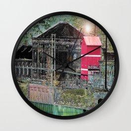 Snoqualmie Wall Clock