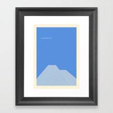 world trade center Framed Art Print