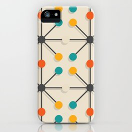 Midcentury Pattern 02 iPhone Case