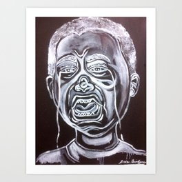 Bully(You're Stupid) Art Print