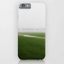 Foggy Landscape - JUSTART © iPhone Case