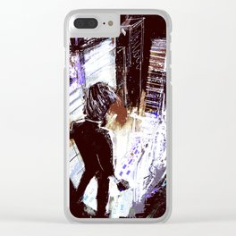 Mice, Men, and Trees Clear iPhone Case