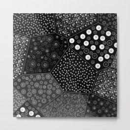 Light geometries Metal Print