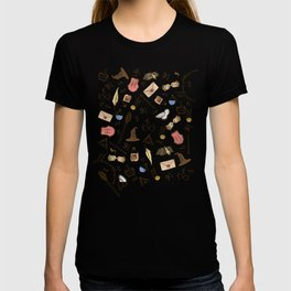 Wizarding Pattern T-shirt