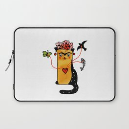 Krida Art Cat – Famous artists by Let's Cats Laptop Sleeve