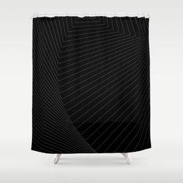 black math Shower Curtain