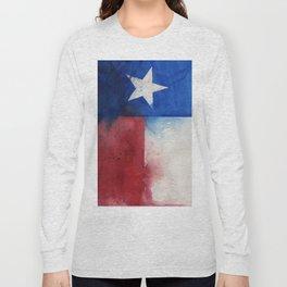 Flag of Texas Long Sleeve T-shirt
