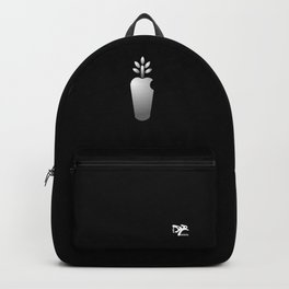 AngelRabbits white logotype Backpack