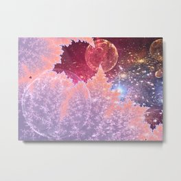 Universe in nature Metal Print
