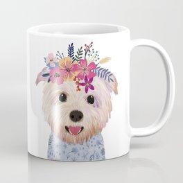 Floral Yorkshire Coffee Mug
