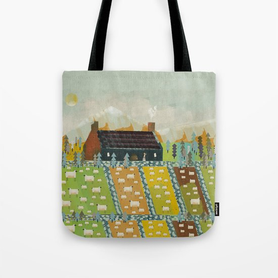 wooly fields Tote Bag