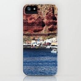 Santorini 23 iPhone Case