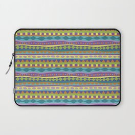 Stripey-Jardin Colors Laptop Sleeve