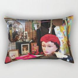 Keeping watch - Detroit, MI Rectangular Pillow