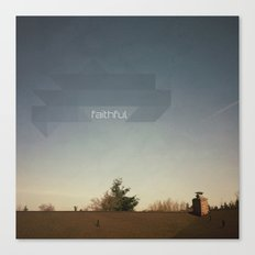 Faithful Canvas Print